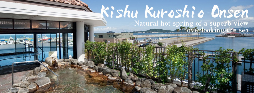 Kishu Kuroshio Onsen Natural hot spring of a superb view overlooking the sea