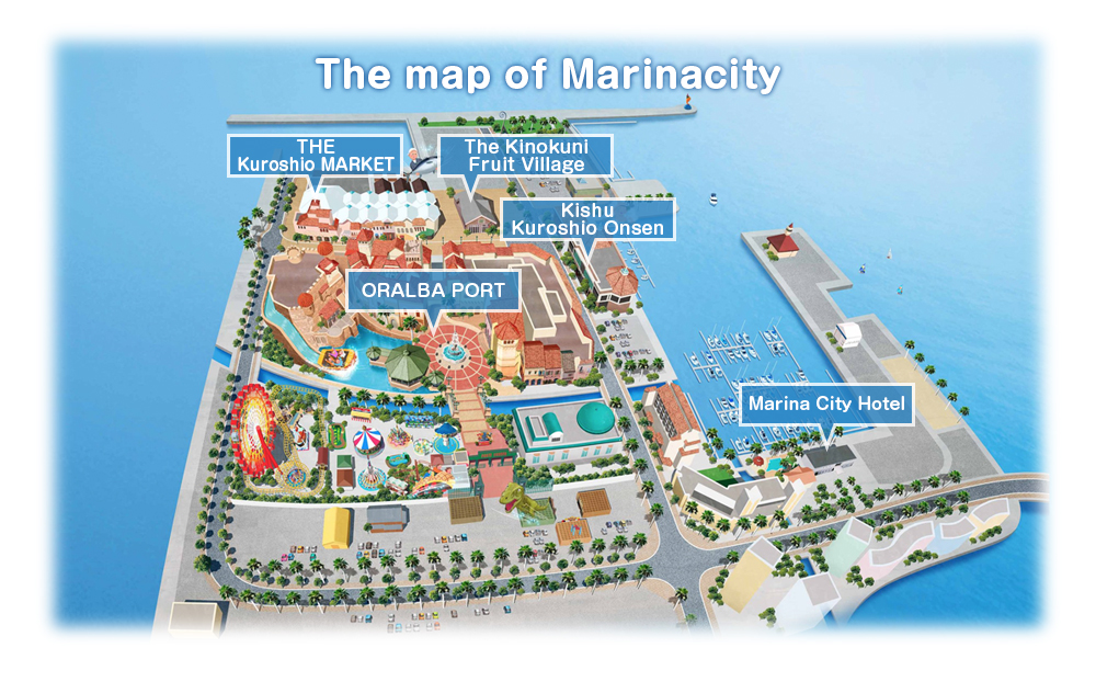The map of Marinacity